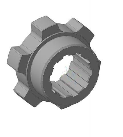1080.30.04 (1041.55.110) Полумуфта ведущая ЭКГ-5А