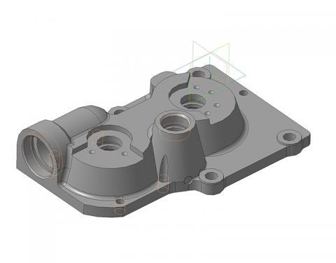 НКР 100-1-3700СБ Крышка пульта